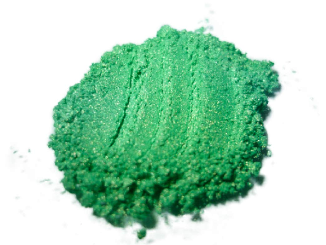 42g/1.5ozGREEN ENVY Mica Powder Pigment (Epoxy, Resin, Soap, Plastidip) BLACK DIAMOND PIGMENTS GE-01