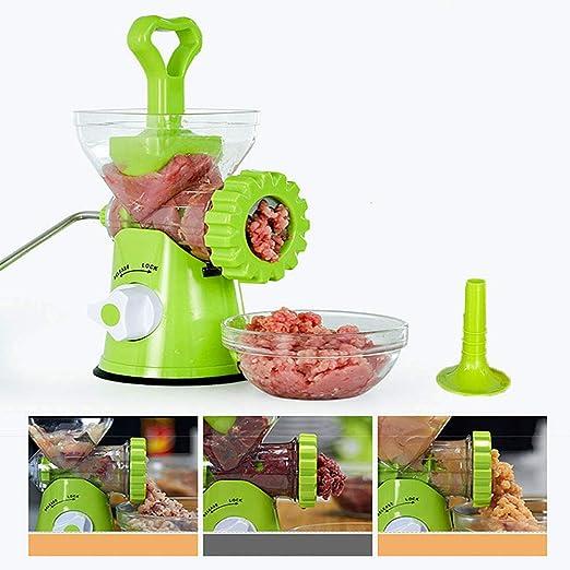 DAETNG Máquina para Picar Carne multifunción Manual, licuadora de ...