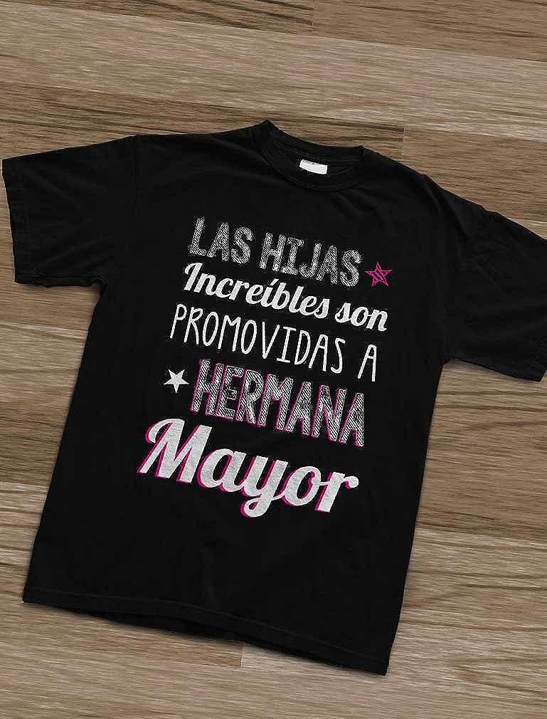 Camiseta de Manga Corta para ni/ñas Regalo para Futura Hermana Mayor Hermana Mayor