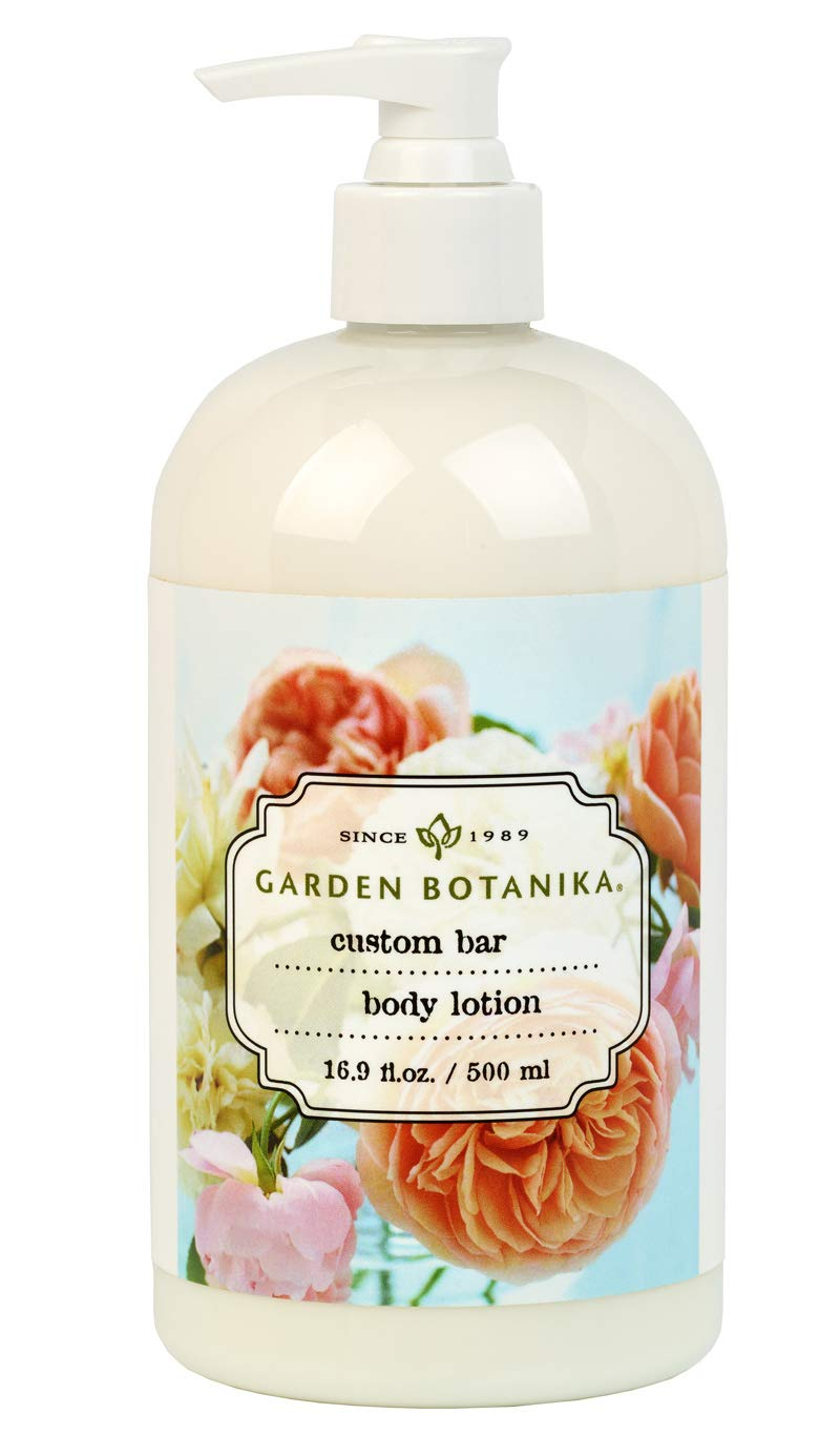 Garden Botanika Custom Lotion, White, Baby Scent, 16.9 Fluid Ounces