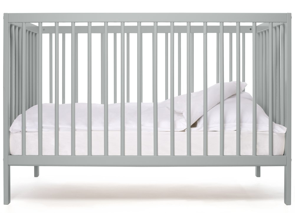 moKee Mini | 120 x 60 cm | Baby Cot | White Beech Serraco Ltd