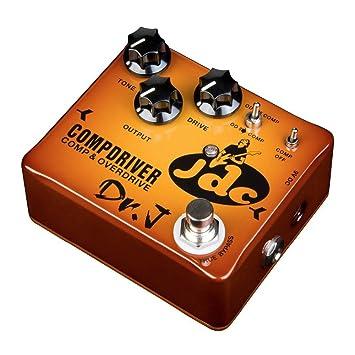 J - JGC Compresor Overdrive efectos de guitarra pedal Modelo de la firma: Amazon.es: Instrumentos musicales