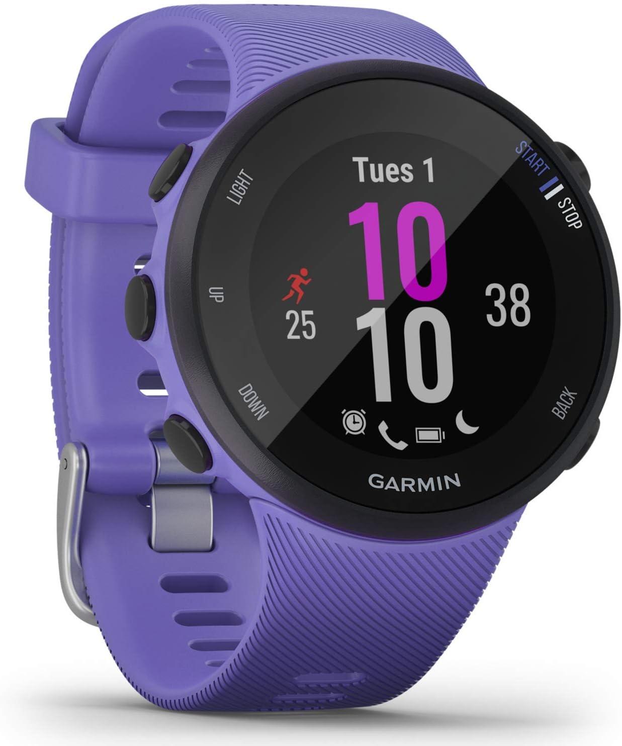 Garmin Forerunner 45 45 S Gps Running Watch In Slim And Lightweight Design Training Plans Fitness Tracker S Sport Freizeit