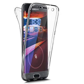 EUWLY Carcasa Compatible con Huawei P20 Pro, Funda Silicona [360 Grados], Transparente