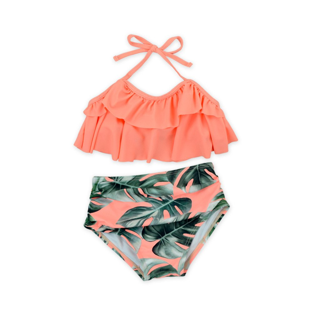 Anbaby Adorable Summer Baby Little Girl Two Pieces Swimsuit