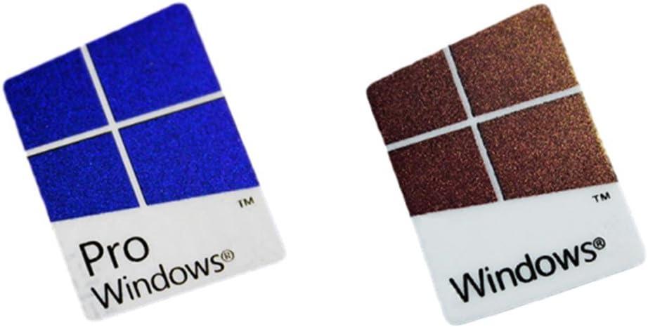 Amazon.com: Microsoft Windows 10 Pro Windows 10 Logo Laptop Replacement  Sticker Case Badge - Authentic Hologram (Windows 10 Pro): Computers &  Accessories