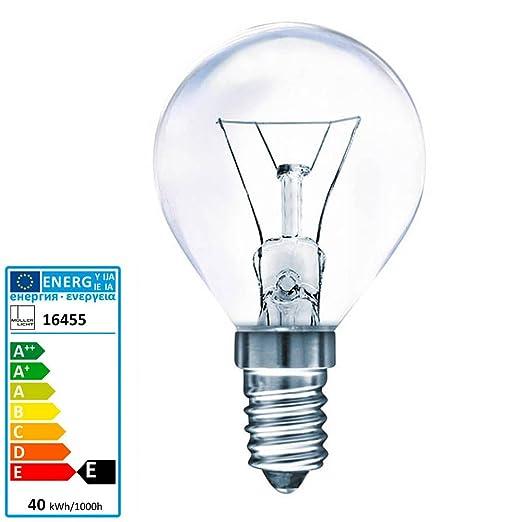 Müller luz bombilla horno 300 grados E14 230 V 40 Watt ...