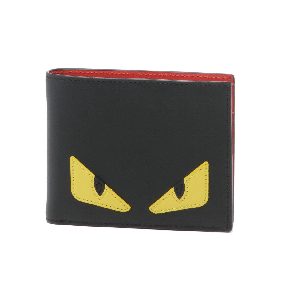 (フェンディ) FENDI 二つ折り財布 ブラック 7M0001 O73 F0U9T [並行輸入品] B078XSCLSX