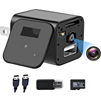 1080P Hidden Camera Charger with 32GB SD Card, Full HD Mini Camera, Nanny Cam with Motion Activation, No WiFi…