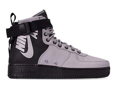 Nike - SF Air Force 1 Mid - 917753009 - Color: Black-Grey -