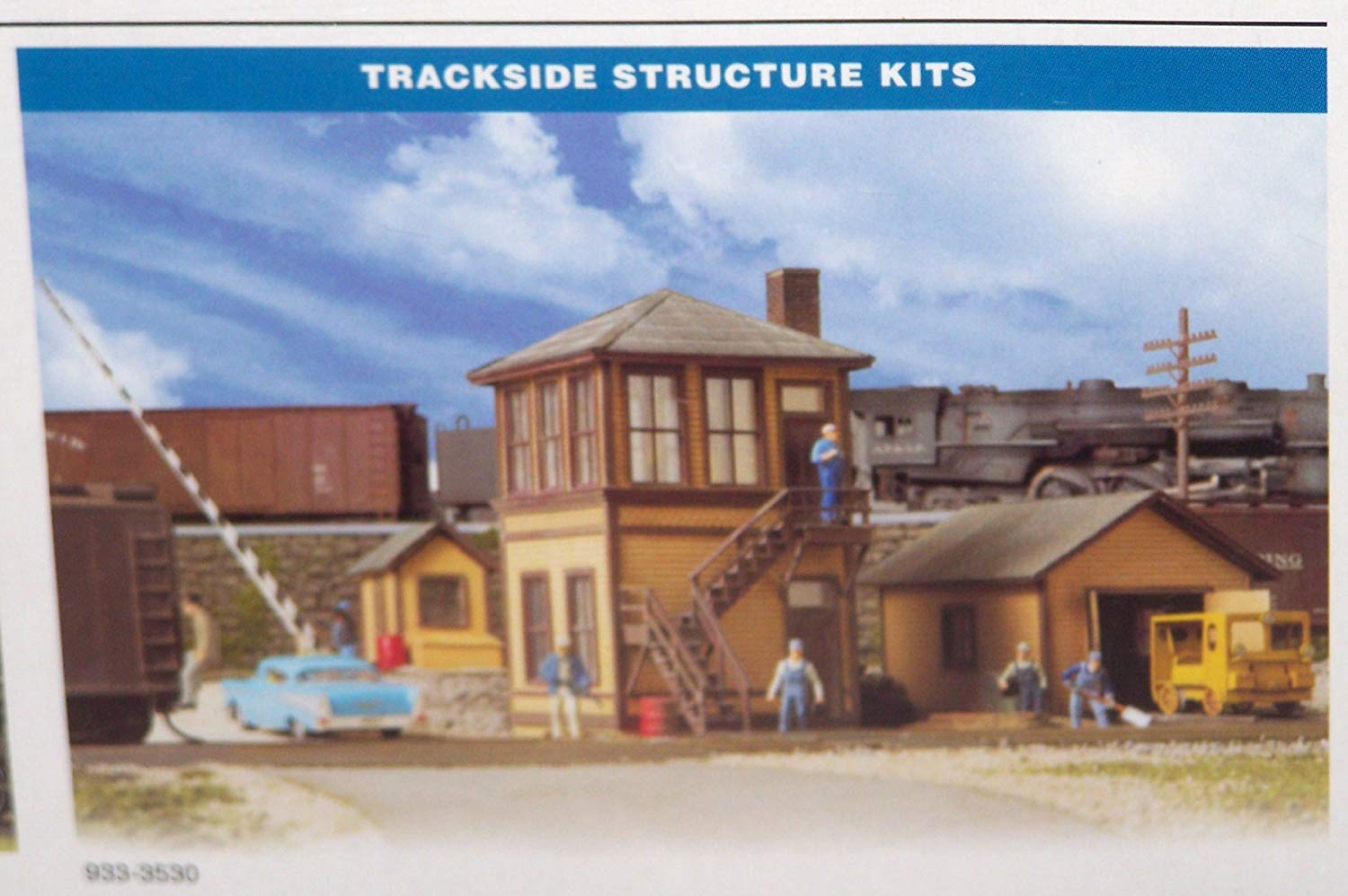 Walthers Trackside Structures Set Kit Inc