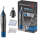 Remington雷明登NE3850 Nano系列 鼻毛修剪器,双面垂直刀头,旋转切割系统,配有1节AA VARTA电池