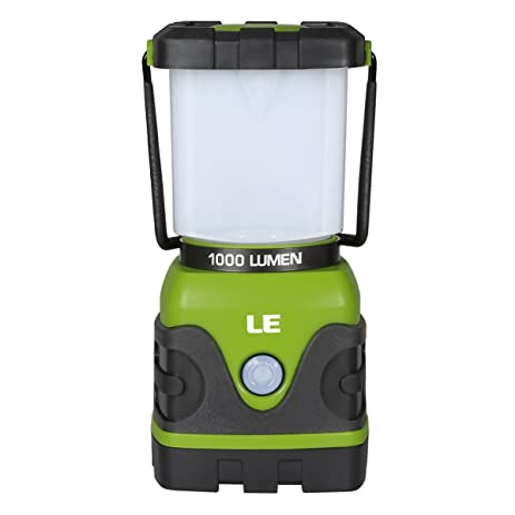 Amazon.com : LE 1000lm Dimmable Portable LED Camping Lantern 4 ...