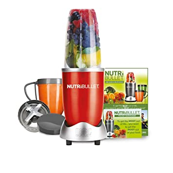NutriBullet 600 Series Blender, 600 W, 8-Piece set, Red