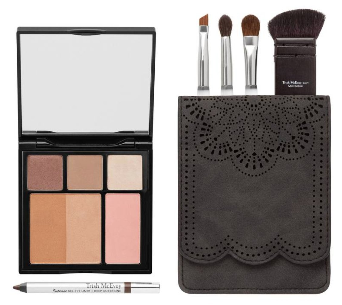 Trish McEvoy Confidence To Go Complete Travel Essentials Makeup Set The Power of Makeup Collection