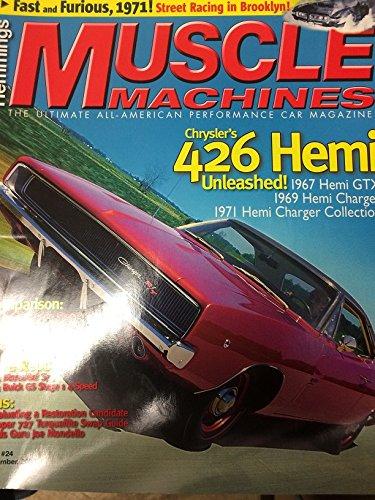 Hemmings MUSCLE MACHINES Issue #24 September 2005 (Chrysler's 426 Hemi Unleashed!) (Chrysler Hemi 426)
