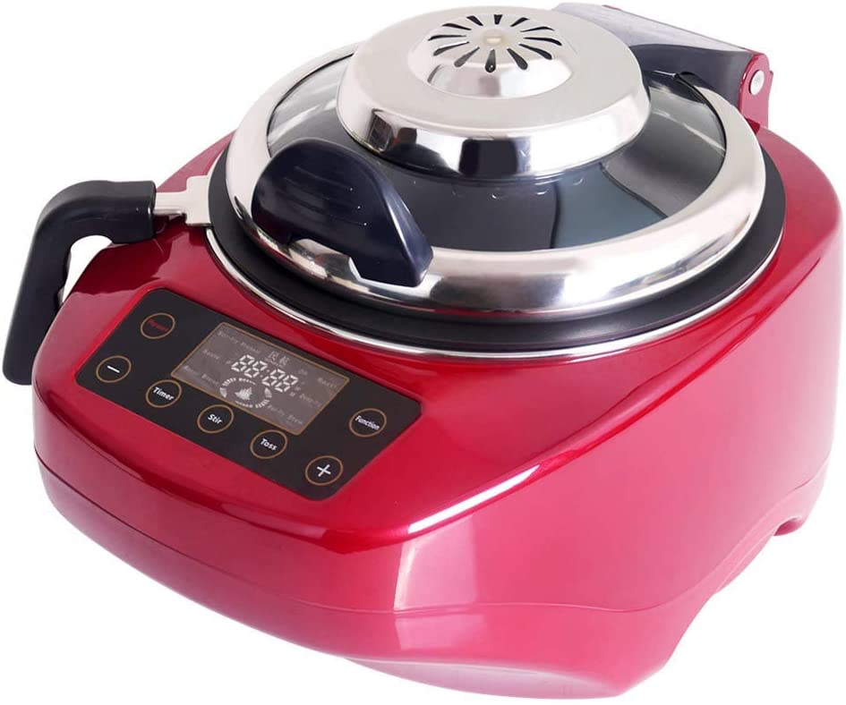 Minhang Automatic Electric Meal Cooker Multifunctional Dishes Maker DL-001 Best Chinese Dishes Cooker (Red)