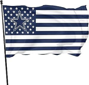 Stockdale Dallas Cowboys Garden Flag Garden Decoration Banner 3FT x 5FT