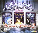 Paranormal Mysteries 2- 3 pack Hidden object games PC-CD-ROM
