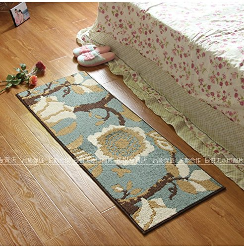 45120cm Europeanstyle kitchens to mat living room coffee table mats carpeted bedroom Hall floor mats,100150cm