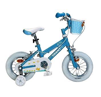 Creing Bicicleta para Niños 12 Inch con Rueda de Entrenamiento Bici Marco de aleación de Aluminio para Niño 90-110cm: Amazon.es: Deportes y aire libre
