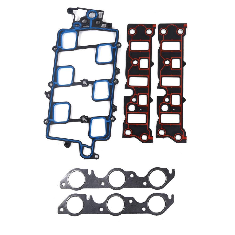 Autoforever Cylinder Head Gasket Set Fit for 97-05 Chevrolet Buick Oldsmobile Pontiac 3.8L OHV Second Design