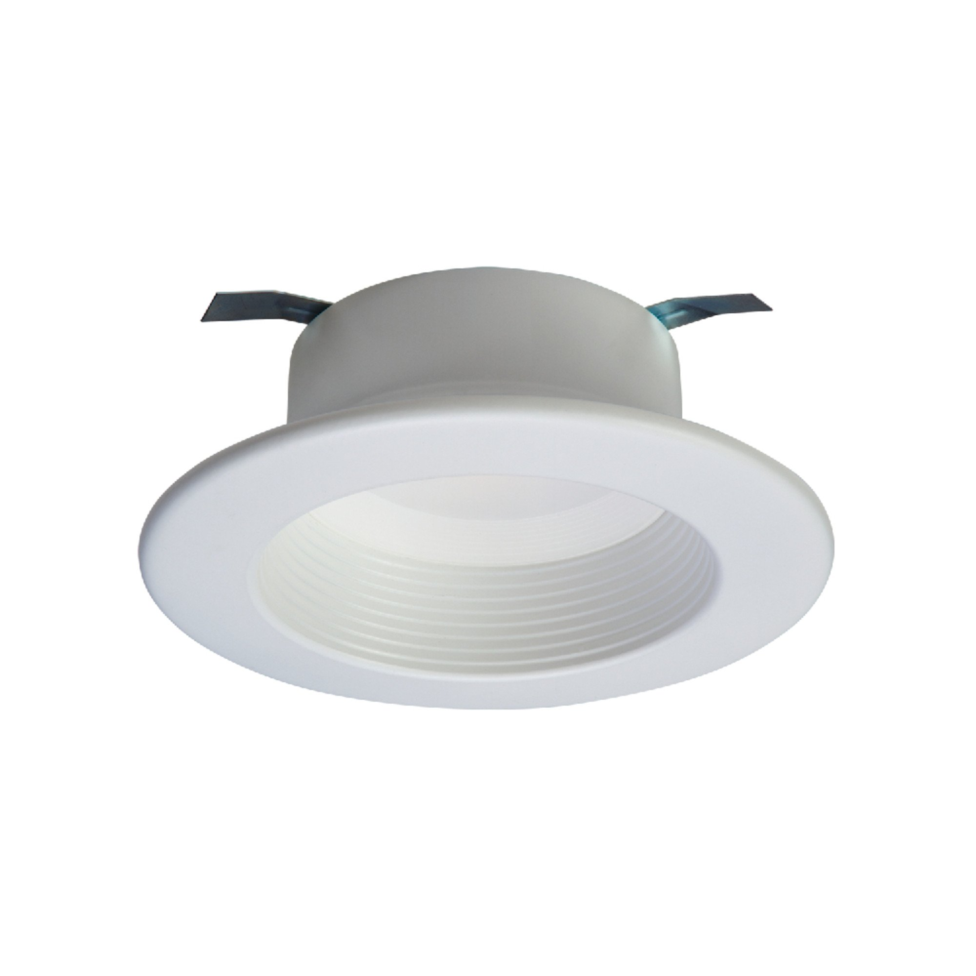 Halo RL460WH940 RL Integrated LED Recessed Lighting Retrofit Downlight Baffle Trim with 90 CRI, 4000K, 4'', White