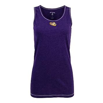 LSU tigres camisa de tanque de deporte para mujer antigua, Púrpura (Purple Heather): Amazon.es: Deportes y aire libre