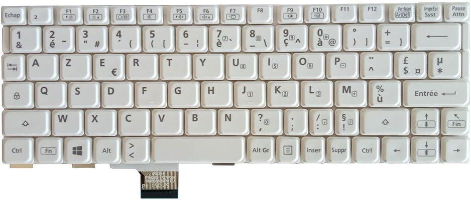 Nuevo teclado francés para Panasonic cf-sx1 SX2 SX3 NX1 NX2 ...