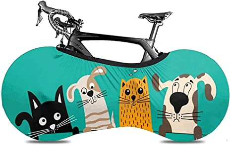 Cubierta De Rueda De Bicicleta,Perros Lindos Gatos Cachorro De ...