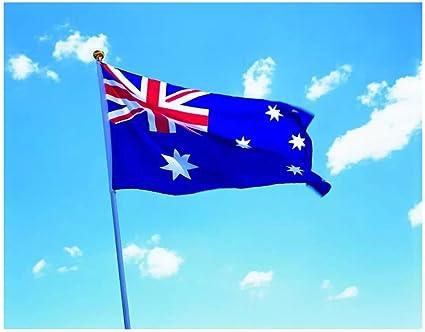 Bandera de Australia 150×90cm para La Decoración del Lugar Parezca Más Juvenil de Bandera