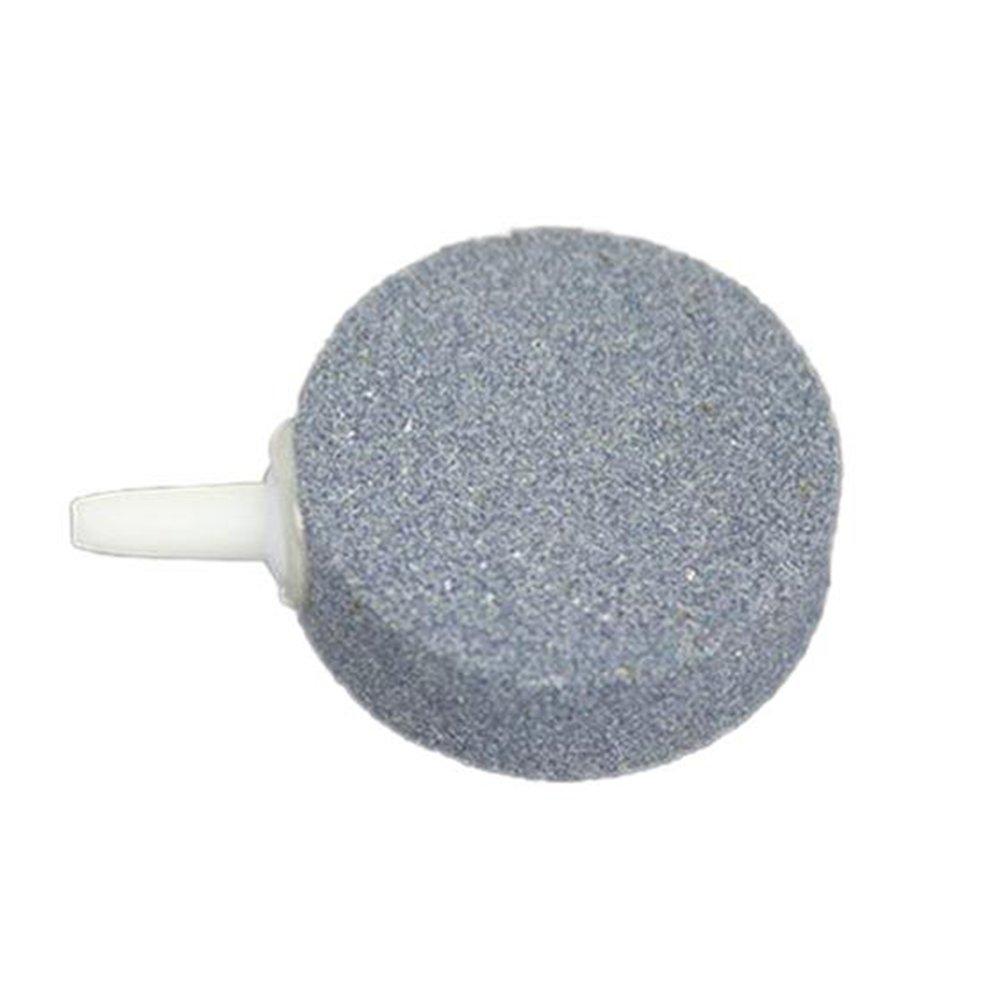 Vi.yo 2 Unids Acuario Aire Piedra Burbujas Minerales Aire Piedra Minerales Burbujas Aire Piedra para Accesorios de Tanque de Peces size 4CM Gris2