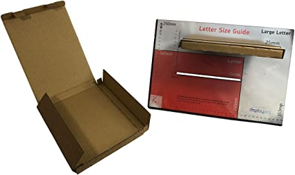 10 x A4 cartón sobres PIP caja correo real tamaño grande carta envío postal de CD y DVD Xbox/PlayStation juegos LIBROS artículos frágiles 350 x 240 x 20 mm (Pack de 10):