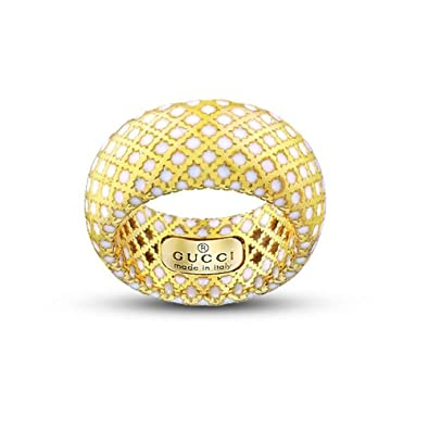 valeur formidable Chaussures de skate 100% qualité garantie Gucci Femme 18 carats (750/1000) Or Jaune: Amazon.fr: Bijoux