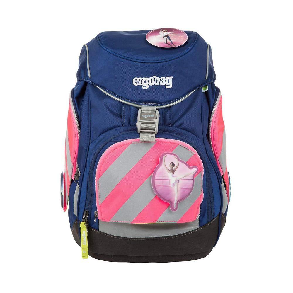 Pink Ergobag Pack Sicherheitsset mit Reflektorstreifen 3tlg Rosa