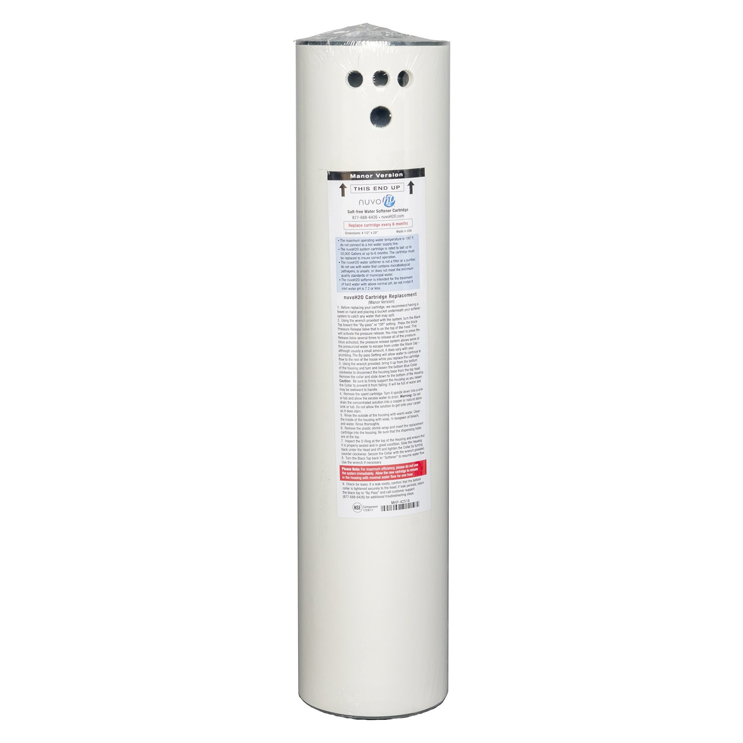Nuvo H2o M 42416 Manor Water Softener Replacement