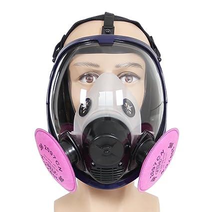 Máscara de Gas de Cara Completa y Filtro 3M 2097 P100 – Trudsafe 6800 Máscara un