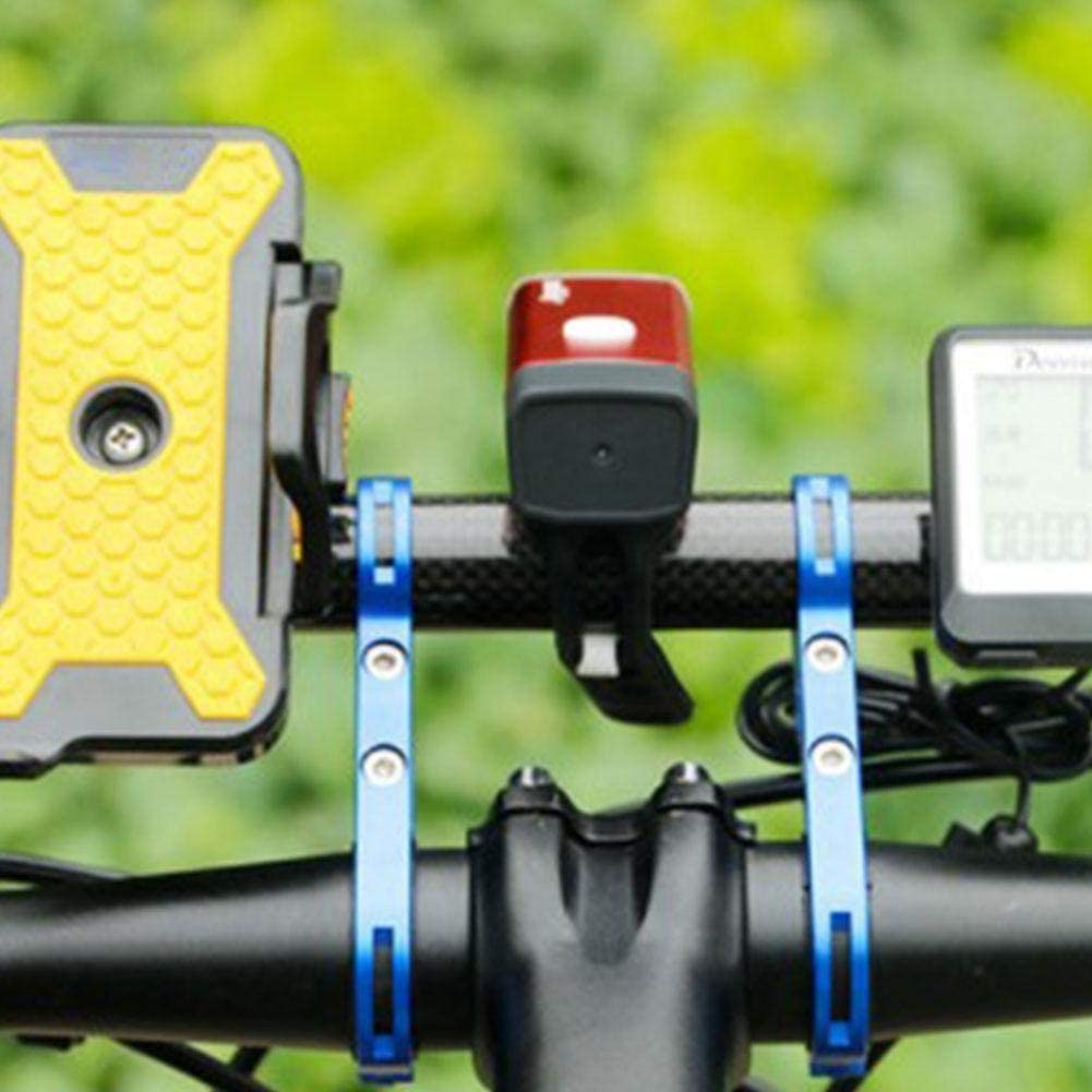 SharpointHome Cycling Handlebar Bike Flashlight Holder Handle Bar Bicycle Accessories Extender Mount Bracket Bike Accessories