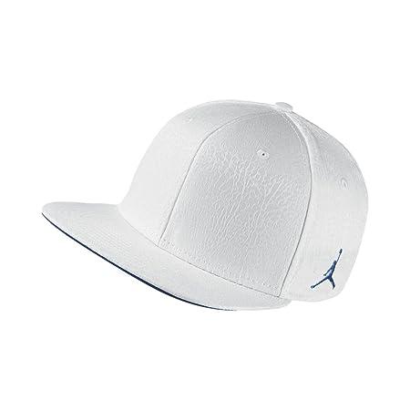 Nike 3 Retro Snapback Gorra Línea Michael Jordan, Hombre, Blanco (White/True Blue), Talla Única: Amazon.es: Deportes y aire libre