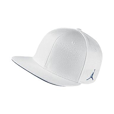 buy online 88d95 a8d17 Nike Mens Jordan 3 Retro Snapback Hat White True Blue 802029-010