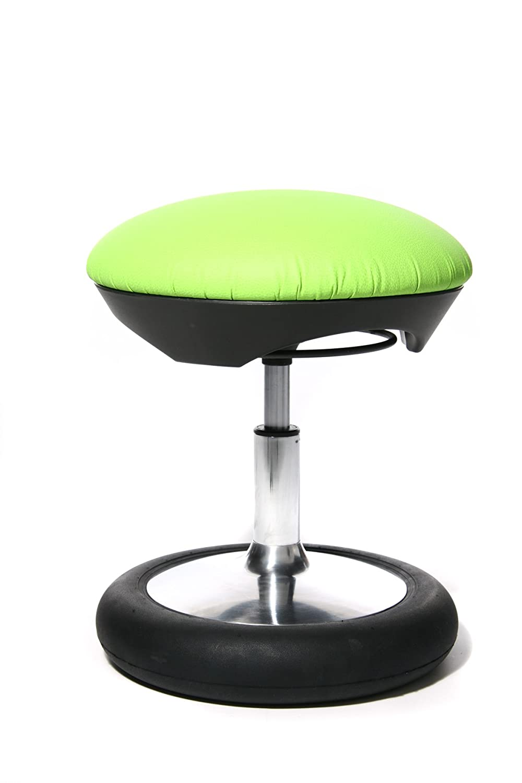 Schreibtischstuhl ohne rollen kind  Topstar SC79S05 Kinder-Fitness-Hocker Sitness Kid 20, Bezug grün ...
