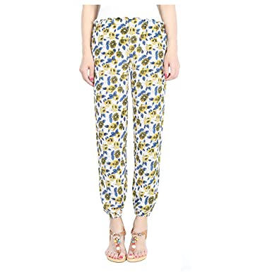 Hanglin Trade Plus Size Elephant Pants Women's Rayon Boho Harem