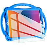 TopEsct kids case for new ipad 10.2 2020/2019, iPad 8th/7th Generation Case for Kids,with Tempered Glass Screen Protector and