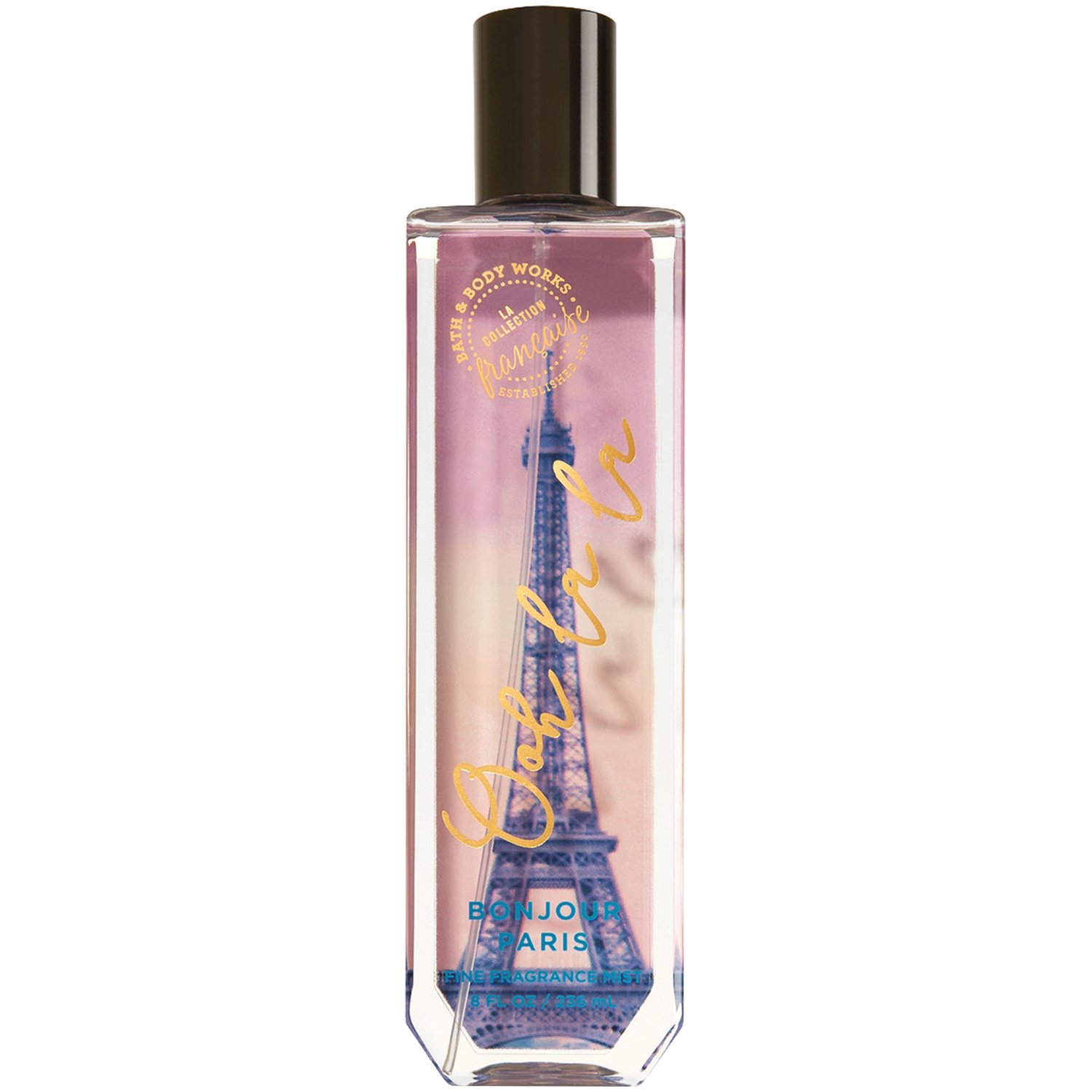 Bath and Body Works Bonjour Paris Fine Fragrance Mist 8 Ounce Full Size Retired Fragrance
