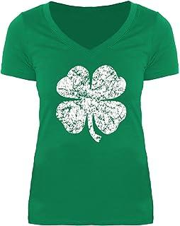 61d628de For G and PL St. Patrick's Day Women's Irish V Neck Short Sleeve T Shirt
