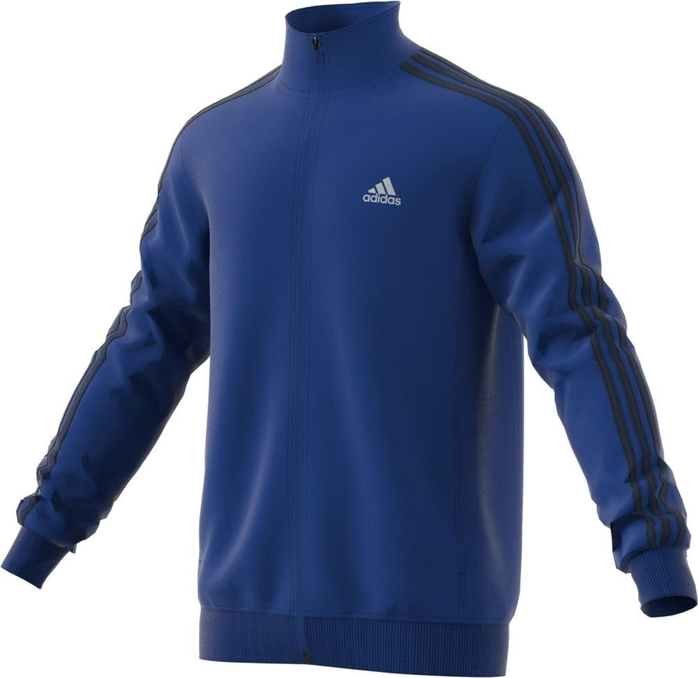 adidas Men's Essential Tricot Jacket, Collegiate Royal/Black, XXX-Large Tall by adidas