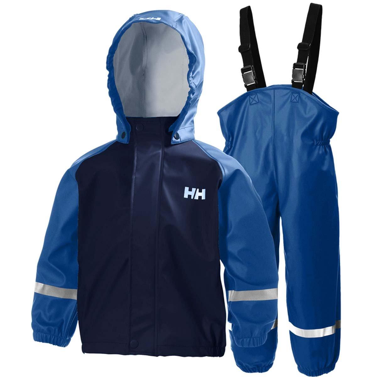 Helly Hansen K Bergen PU RAINSET - Chándal, Unisex niños, Azul ...