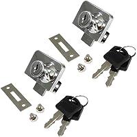 AERZETIX: 2x Cerraduras y llaves para puerta