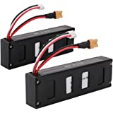 2pcs 7.4v 1800mAh battery for mjx b3 bugs 3 Force1 F100 RC Drone Spare Parts