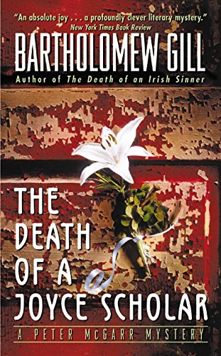Read Online The Death of a Joyce Scholar: A Peter McGarr Mystery ebook
